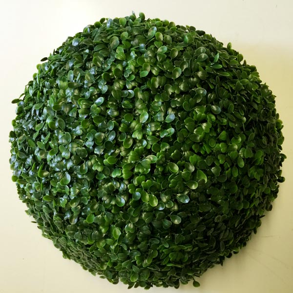Outdoor Artificial Boxwood Topiary Ball 35cm