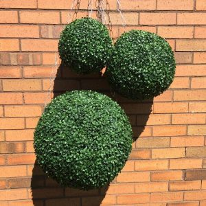 Uv Protected Artificial Large Topiary Ball 48cm