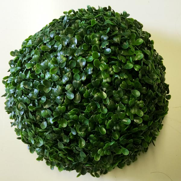 Uv Stable Artificial Boxwood Topiary Ball 26cm