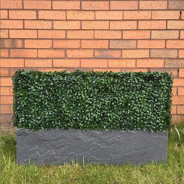 Artificial Boxwood Hedging Panel 50cm X 50cm