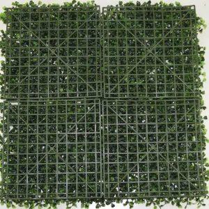 Artificial Multi Leaf Ivy Bush Hedge Screening Tile 50cm X 50cm