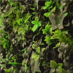 Artificial Multi Leaf Hedge Screening Tile 50cm X 50cm