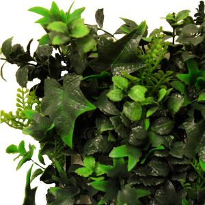 Artificial Multi Leaf Ivy Bush Hedge Screening Tile 50cm X 50cm