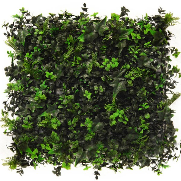 Artificial Multi Leaf Ivy Bush Hedge Tile