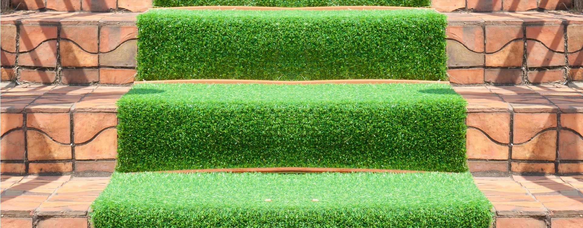 artificial grass for stairs or steps