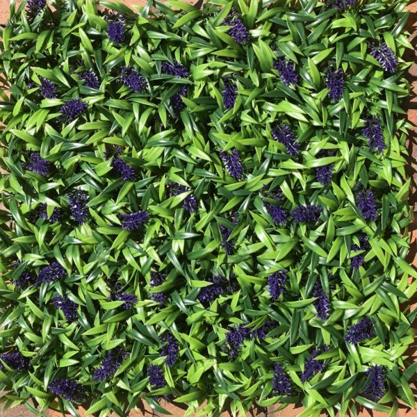 Artificial Lavender Green wall