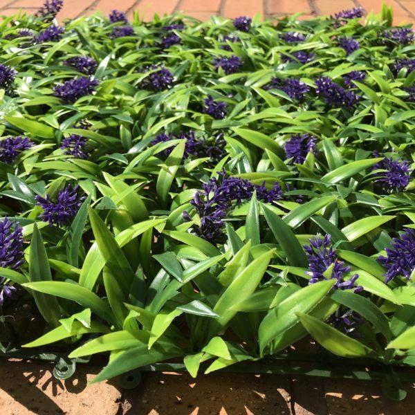 Artificial Lavender Panel