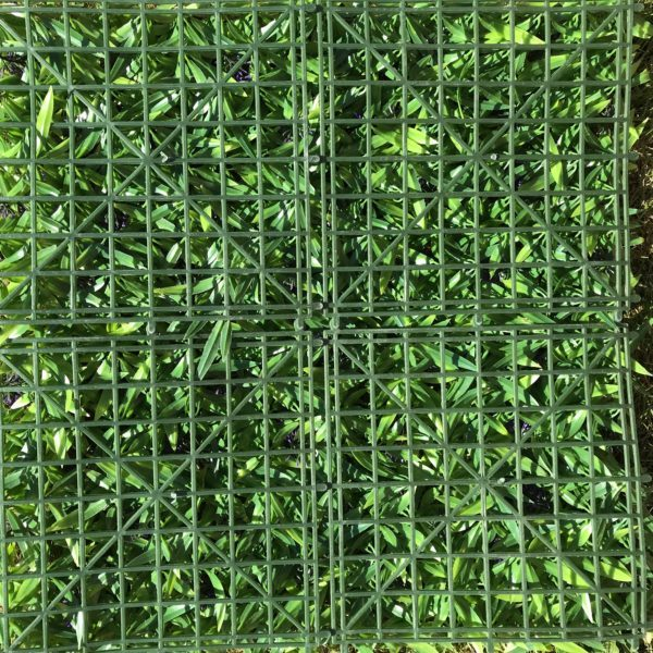Lavender Hedge Panel