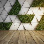 artificial green walls showroom