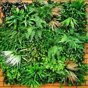 Deluxe Green Wall Panel